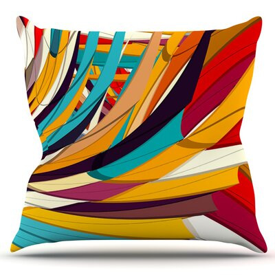 Demy World by Danny Ivan Outdoor Throw Pillow
