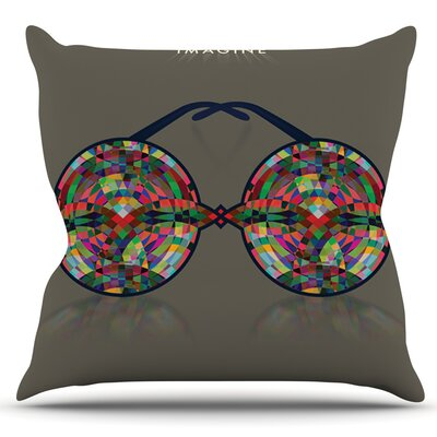 iMagine by Deepti Munshaw Outdoor Throw Pillow
