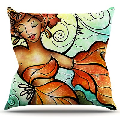 Cubana by Mandie Manzano Outdoor Throw Pillow