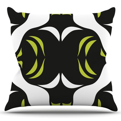 Jaws by Miranda Mol Outdoor Throw Pillow