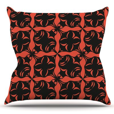 Oval Love by Miranda Mol Outdoor Throw Pillow
