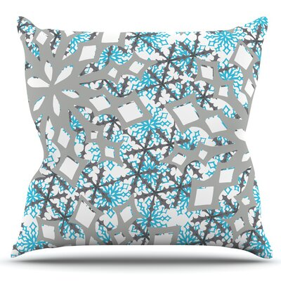 Chilly by Miranda Mol Outdoor Throw Pillow
