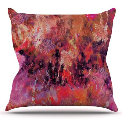 Indian City by Nikki Strange Outdoor Throw Pillow
