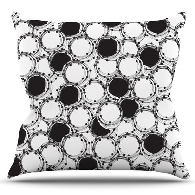 Beaded Bangles by Nandita Singh Outdoor Throw Pillow