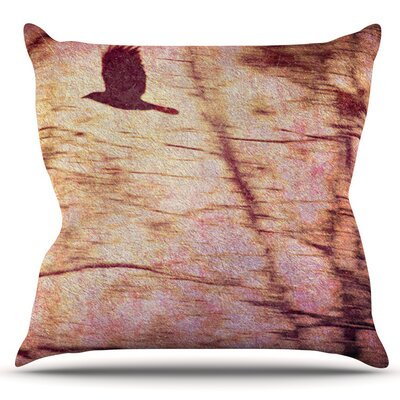 Midnight Dreary by Robin Dickinson Outdoor Throw Pillow