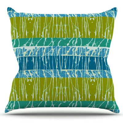 Century City Splatter by Nina May Outdoor Throw Pillow Color: Century City