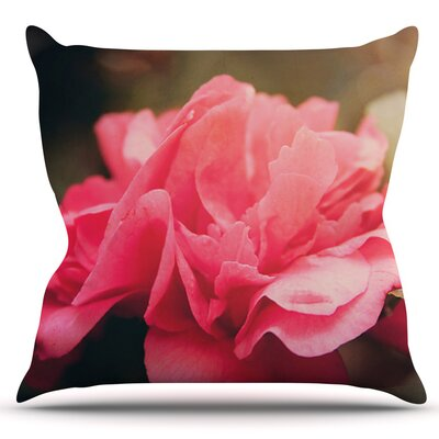 Camelia by Angie Turner Outdoor Throw Pillow