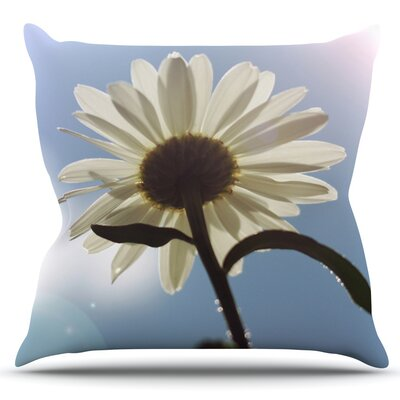 Daisy Bottom by Angie Turner Outdoor Throw Pillow