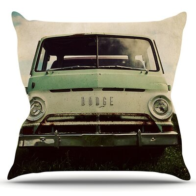 Dodge by Angie Turner Outdoor Throw Pillow