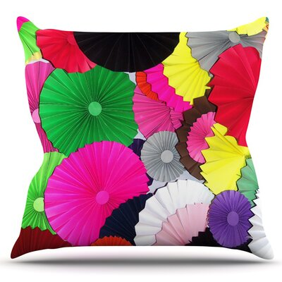 Tempting by Heidi Jennings Outdoor Throw Pillow
