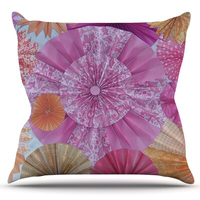 Blossoming by Heidi Jennings Outdoor Throw Pillow