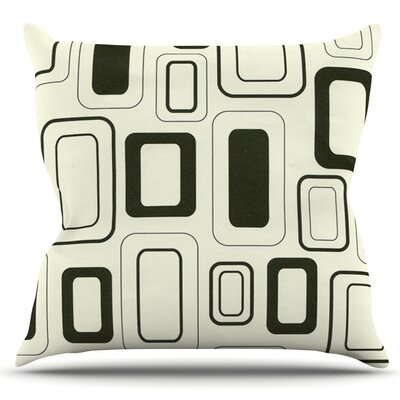 Cubes For Days by Heidi Jennings Outdoor Throw Pillow
