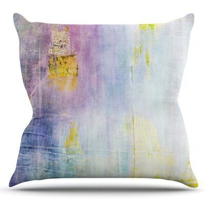 Color Grunge by Iris Lehnhardt Outdoor Throw Pillow