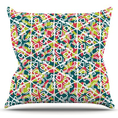Cool Yule by Miranda Mol Outdoor Throw Pillow