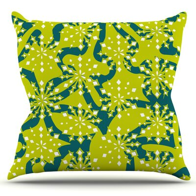Festive Splash by Miranda Mol Outdoor Throw Pillow