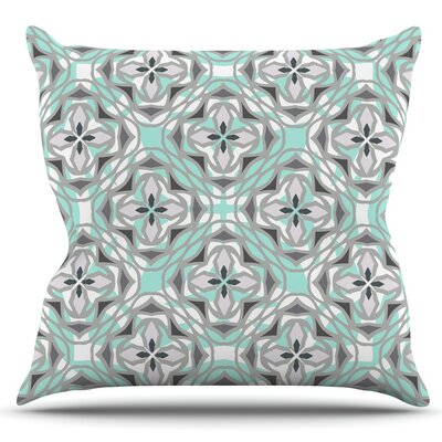 Winter Pool by Miranda Mol Outdoor Throw Pillow