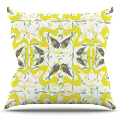 Azulejos by Miranda Mol Outdoor Throw Pillow