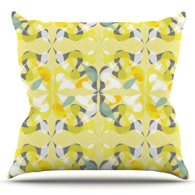 Spring Flourish by Miranda Mol Outdoor Throw Pillow