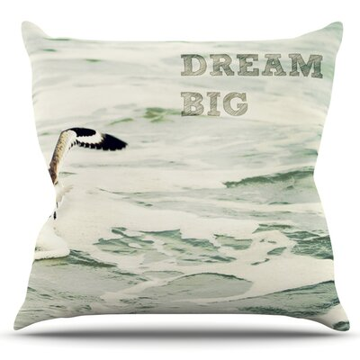 Dream Big by Robin Dickinson Outdoor Throw Pillow