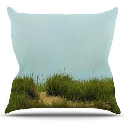 Hand in Hand by Robin Dickinson Outdoor Throw Pillow