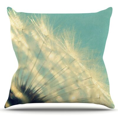 Just Dandy by Robin Dickinson Outdoor Throw Pillow
