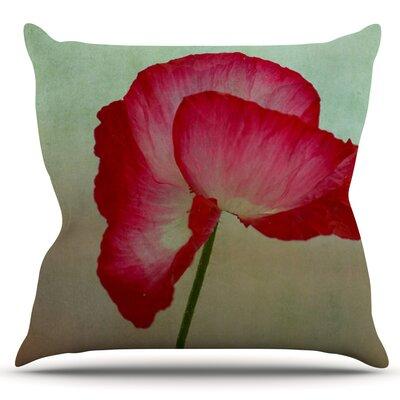 La Te Da by Robin Dickinson Outdoor Throw Pillow