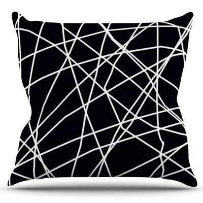 Paucina by Trebam Outdoor Throw Pillow