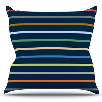 Tanak by Trebam Outdoor Throw Pillow