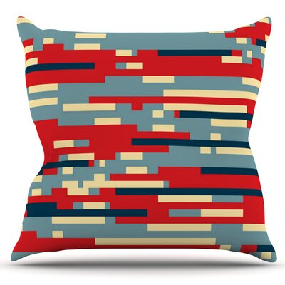 Nada by Trebam Outdoor Throw Pillow