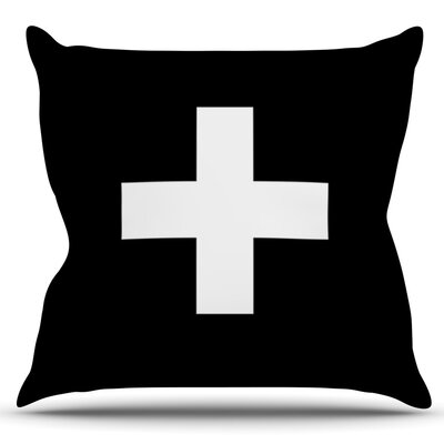Plus by Trebam Outdoor Throw Pillow