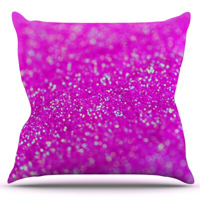 Raspberry Sorbet by Beth Engel Outdoor Throw Pillow