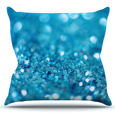Swimming by Beth Engel Outdoor Throw Pillow