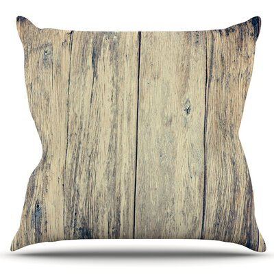 Wood Photography II by Beth Engel Outdoor Throw Pillow