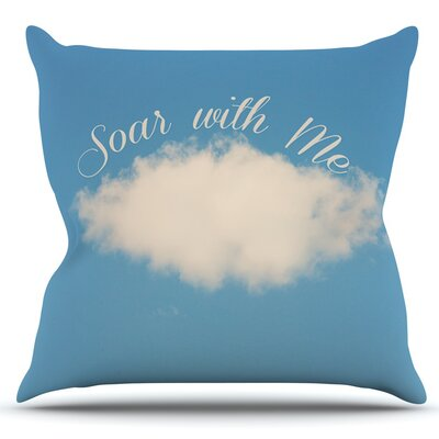 Soar With Me by Beth Engel Outdoor Throw Pillow