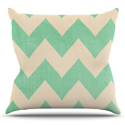 Malibu by Catherine McDonald Outdoor Throw Pillow