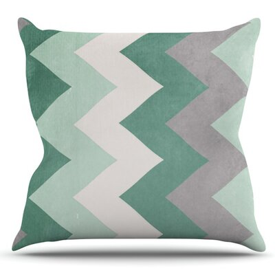 Winter by Catherine McDonald Outdoor Throw Pillow