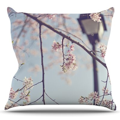 Walk with Me by Catherine McDonald Outdoor Throw Pillow
