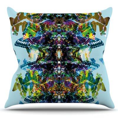 Butterfly by Danii Pollehn Outdoor Throw Pillow