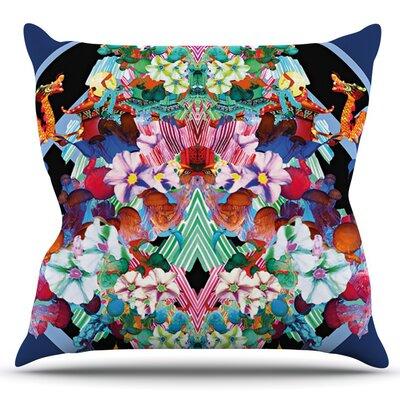 Herz by Danii Pollehn Outdoor Throw Pillow