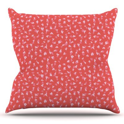 Love Confetti by Emma Frances Outdoor Throw Pillow