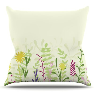 Springtime by Emma Frances Outdoor Throw Pillow