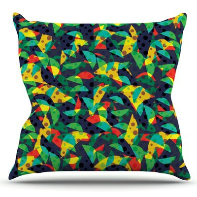 Fruit and Fun by Akwaflorell Outdoor Throw Pillow