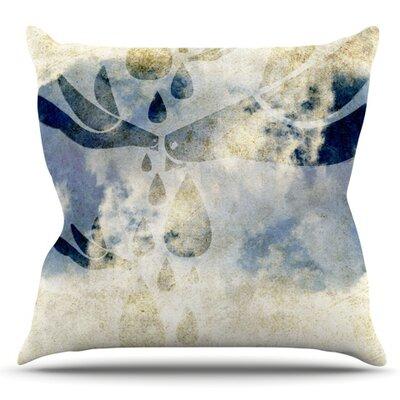Doves Cry by iRuz33 Outdoor Throw Pillow