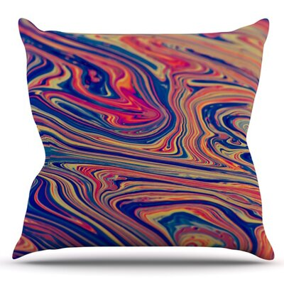 Soap and Water by Ingrid Beddoes Outdoor Throw Pillow