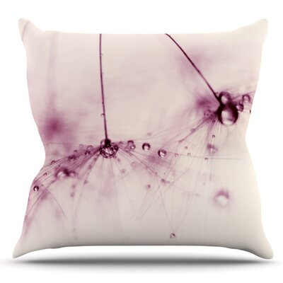 Blush by Ingrid Beddoes Outdoor Throw Pillow
