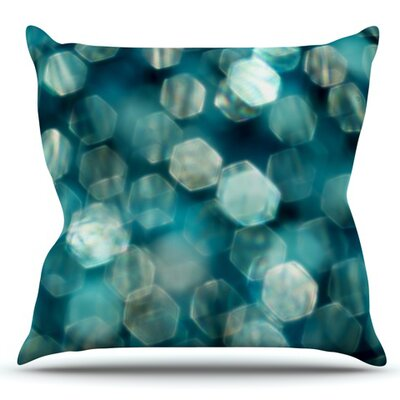 Shades of Blue by Ingrid Beddoes Outdoor Throw Pillow