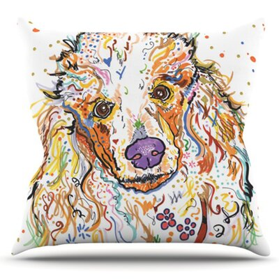 Lily by Rebecca Fischer Outdoor Throw Pillow