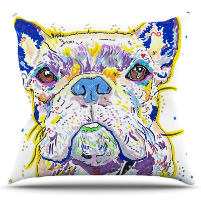 Niko by Rebecca Fischer Outdoor Throw Pillow
