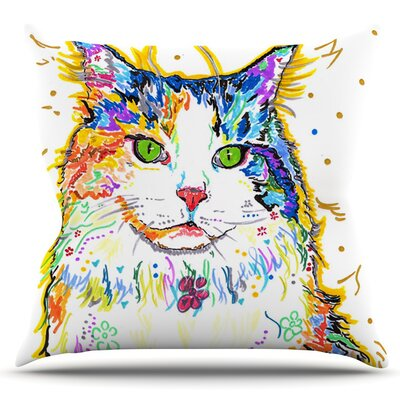 Royal by Rebecca Fischer Outdoor Throw Pillow
