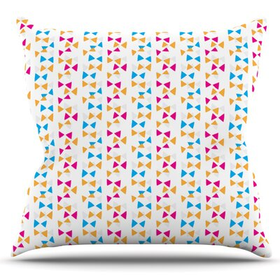 Lets Celebrate by Apple Kaur Designs Outdoor Throw Pillow